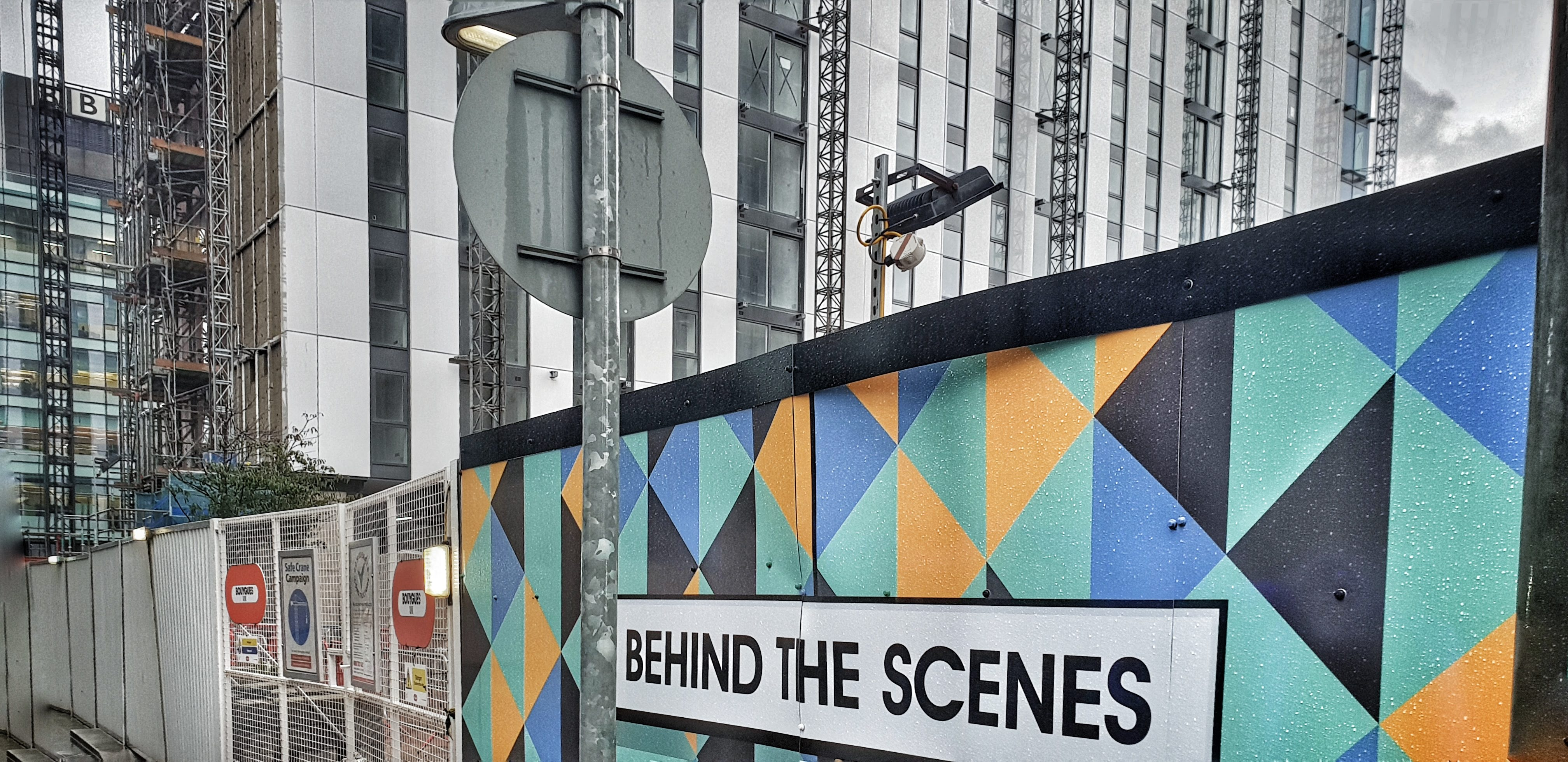Behind The Scenes at MediaCityUK